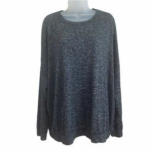 Athleta XL Sweatshirt Mindful Pullover Relaxed Top